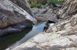 Départ de la 2ème cascade